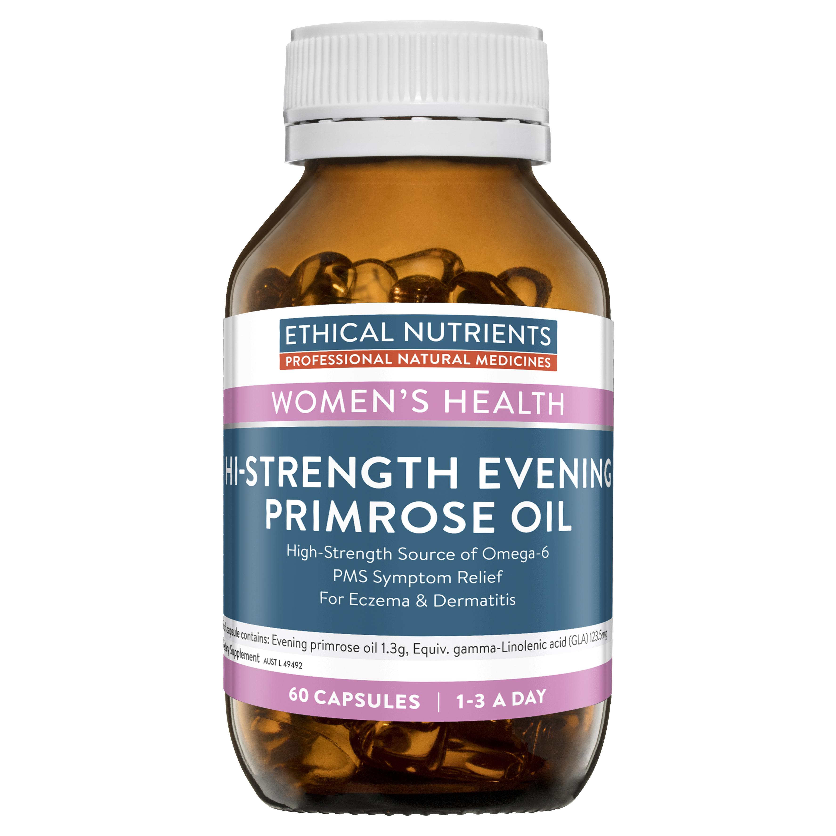 Hi-Strength Evening Primrose Oil 60 Capsules