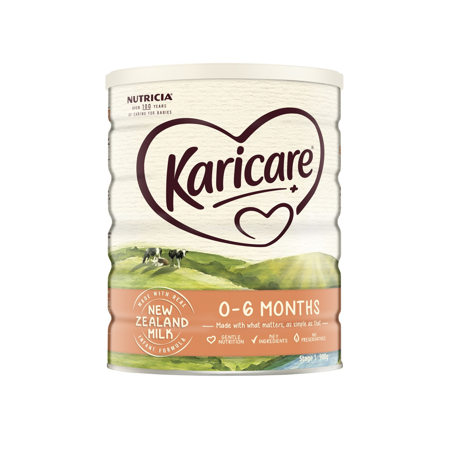 Buy Karicare+ 1 Infant Formula From Birth 0-6 Months 900g Online at