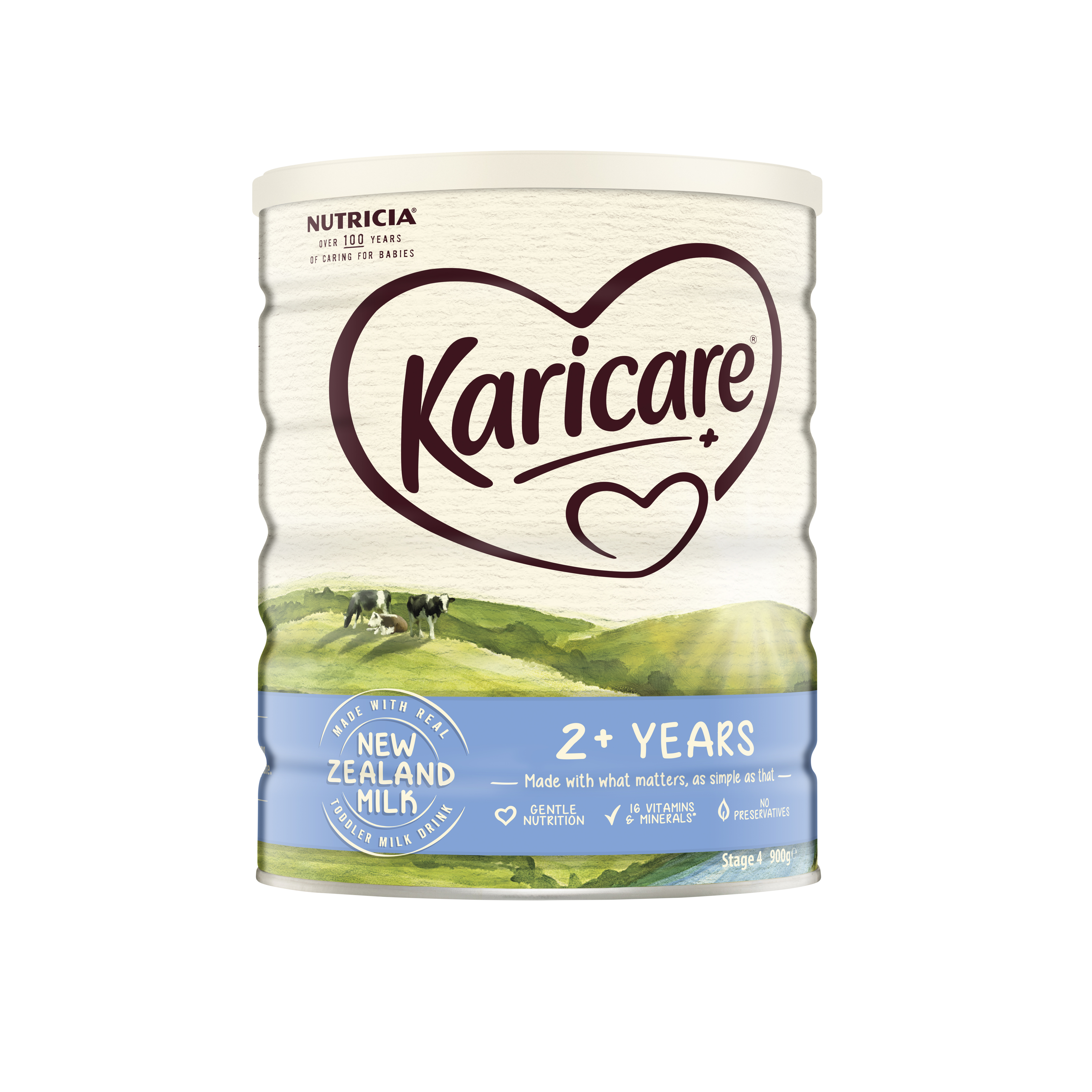 Karicare+ 4 Toddler Growing Up Milk From 2 years 900g